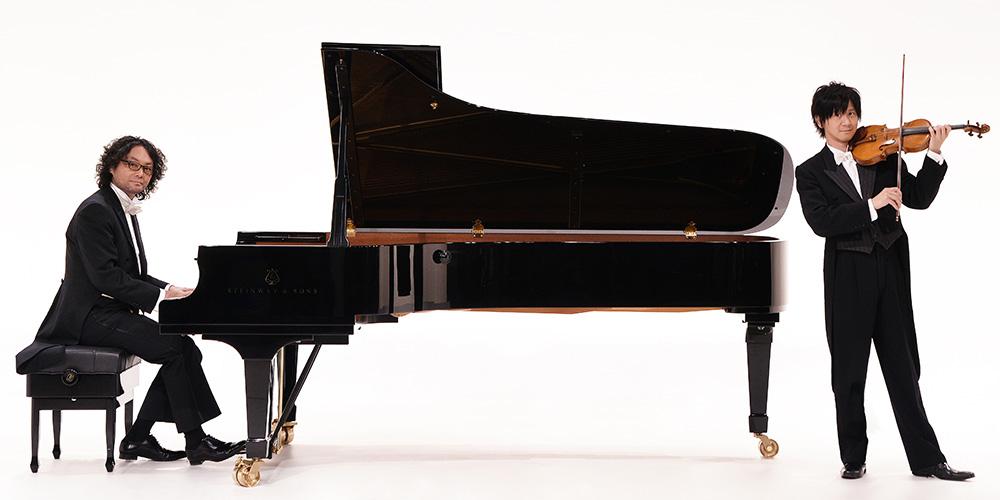 スギテツ(ピアノ・作編曲:杉浦哲郎 ヴァイオリン:岡田鉄平)